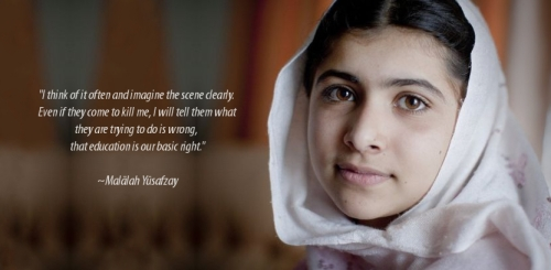 Malala Yousafrzai
