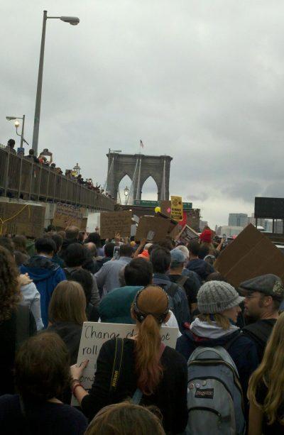 Brooklyn Bridge OWS